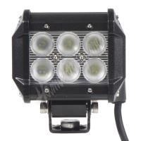 wl-cree18 LED světlo obdélníkové, 6x3W, 99x73x107mm