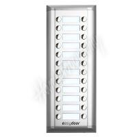 Easydoor DJ 24T EXT v2 rozšiřující tablo s 24 tlačítky