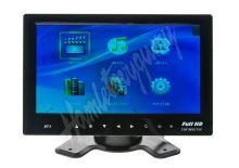 "ic-701t LCD monitor 7"" na palubní desku s microSD/USB/FM modulátor/Bluetooth"