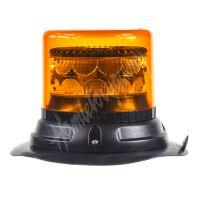 911-C24m PROFI LED maják 12-24V 24x3W oranžový magnet 133x86mm, ECE R65