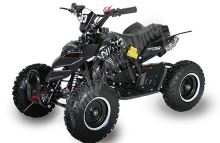 Dětská dvoutaktní čtyřkolka ATV Repti NitroM 49ccm E-start DO, černá