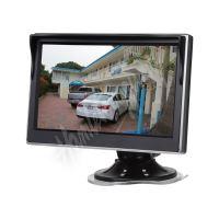 """80062 LCD monitor 5"""" černá/stříbrná s přísavkou s možností instalace na HR držák"""