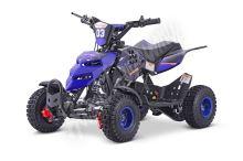 Dětská dvoutaktní čtyřkolka ATV Repti Nitro 49ccm modrá sestavena