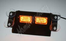 kf739 x PREDATOR LED vnitřní, 6 x LED 1W, 12V, oranžový