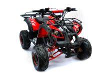 """Dětská čtyřtaktní čtyřkolka ATV Hummer RS 125ccm DELUXE červená 1 rych. poloautomat 7""""kola"""