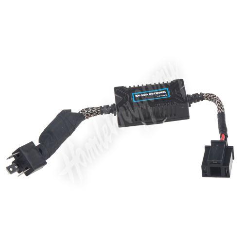 led-wcH4 Digitální eliminátor chybových hlášení/rušení s redukcí pro žárovky H4