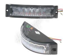 kf188 Výstražné LED světlo vnější, oranžové, 12-24V