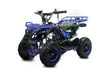 Dětská dvoutaktní čtyřkolka ATV Torino Deluxe 49ccm modrá