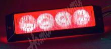 911-E4red PROFI výstražné LED světlo vnější, 12-24V, červené