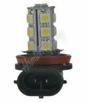 95h1102 LED H11 bílá, 12V, 18LED/3SMD