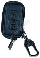 483CT102 x Kožený obal se zipem černý pro klíč Citroën C3/C4