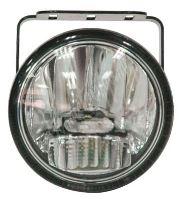 drlfog77 LED mlhová světla/denní svícení, kulatá světla 77mm, ECE