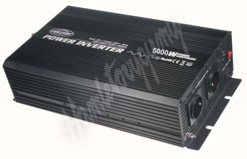 355012 Měnič napětí z 12/230V + USB, 5000W