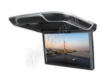 """ds-133Abl Stropní LCD monitor 13,3"""" černý s OS. Android HDMI / USB, dálkové ovládání se sn"""