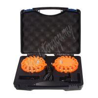 wl-h02set2ora LED výstražné světlo 16LED, oranžové, set 2ks