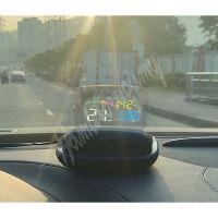 "se151 x  HEAD UP DISPLEJ 4"", OBDII + GPS, reflexní deska"