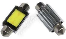95COB01 LED sufit (36mm) bílá, 12V, COB