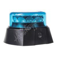 911-C13MGblu x  PROFI AKU LED maják 12x3W modrý 125x90mm, ECE R65