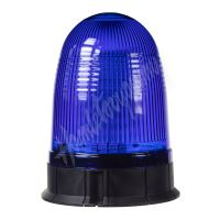 wl55fixblue x LED maják, 12-24V, modrý, 80x SMD5730, ECE R10