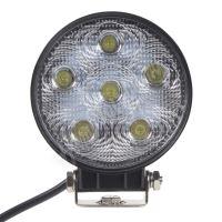 wl-1860 LED světlo kulaté, 6x3W, 128x116mm, ECE R10