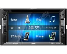"KW-V240BT JVC 2DIN autorádio/6,2"" displej/CD/DVD/USB/AUX/Bluetooth"