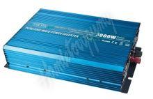 35psw3024 Sinusový měnič napětí z 24/230V + USB, 3000W