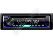 KD-R992bt JVC autorádio s CD/MP3/USB/AUX/Bluetooth připojení/multicolor podsvícení/odním.p