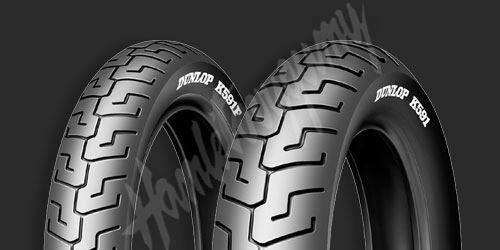 Dunlop K591 HD 160/70 B17 M/C 73V TL zadní
