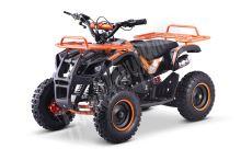 Dětská dvoutaktní čtyřkolka ATV MiniHummer Deluxe 49ccm oranžová