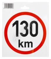 Samolepka omezená rychlost 130km/h (150 mm) TIR