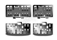 sot-067 Kabeláž pro HF PARROT/OEM Mazda všechny modely -2000