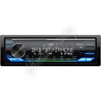 KD-X472DBT JVC DAB / FM autorádio bez mechaniky/Bluetooth/USB/AUX/odním.panel/multicolor