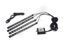 95RGB-SET03 LED podsvětlení vnitřní/vnější RGB 12V, bluetooth, 4 pásky