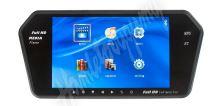 "ic-700bt LCD monitor 7"" na zrcátko s microSD/USB/FM modulátor/Bluetooth"