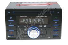 scc200bt 2DIN autorádio CD/USB/SD/AUX, Bluetooth, externí mikrofon, dálkové ovládání