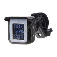 tpmsM-x1 TPMS kontrola tlaku v pneumatice pro motocykly / solární napájení