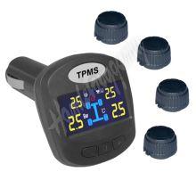 tpms403 TPMS kontrola tlaku v pneumatice 4 externí čidla