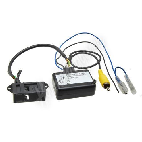 Modul pro připojení OEM parkovací kamery k dodatočne instalovanému autorádiu pro vozidlá V