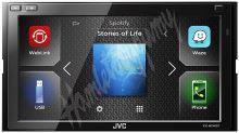 """KW-M540BT JVC 2DIN autorádio/6,8"""" displej/USB/AUX/Bluetooth/ """"WebLink"""" s podporou Waze"""