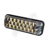 Poziční výstražné LED světlo, 12 / 24V, R10/R65, oranžové 3812A