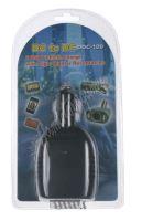 34517 CL adaptér 12V/10A 2xUSB + CL zásuvka