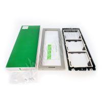 Comelit 3311/3S Instalační rámeček 3 moduly, stříbrný