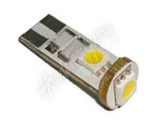 95229cb LED T10 bílá, 12V, 3LED/3SMD