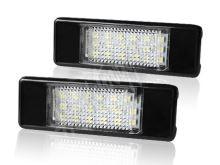 RZpg02 LED osvětlení SPZ do vozu Peugeot a Citroen