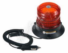wl19 Zábleskový maják, 12-24V, oranžový magnet,