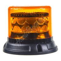 911-C24f PROFI LED maják 12-24V 24x3W oranžový 133x86mm, ECE R65