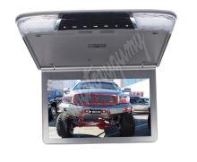 """ic-116slim Stropní monitor 11,6"""" šedo/stříbrný s SD/USB/IR/FM/HDMI"""