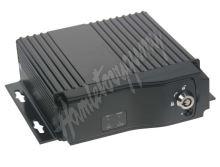 dvr4c Černá skříňka pro záznam obrazu ze 4 kamer, 2x slot SD