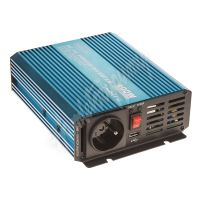 35psw424 Sinusový měnič napětí z 24/230V + USB, 400W