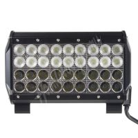 wl-cree108-2c LED rampa,dva úhly vyzařování 8/60°, 36x3W, 235x93x167mm